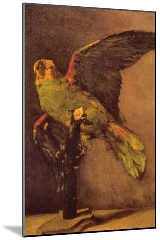 Parrot-Vincent van Gogh-Mounted Art Print