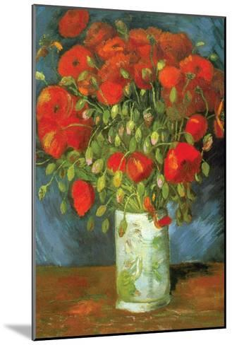 Red Poppies-Vincent van Gogh-Mounted Art Print