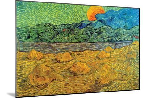 Rising Moon-Vincent van Gogh-Mounted Art Print