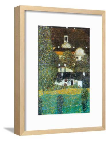 Castle Chamber at Attersee Ii-Gustav Klimt-Framed Art Print