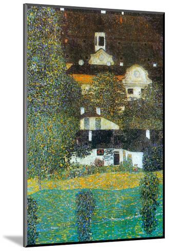 Castle Chamber at Attersee Ii-Gustav Klimt-Mounted Art Print