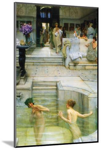 A Favorite Tradition-Sir Lawrence Alma-Tadema-Mounted Art Print