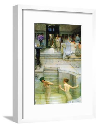 A Favorite Tradition-Sir Lawrence Alma-Tadema-Framed Art Print