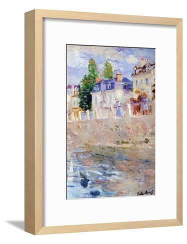 The Sky in Bougival-Berthe Morisot-Framed Art Print