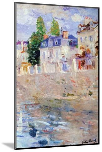 The Sky in Bougival-Berthe Morisot-Mounted Art Print