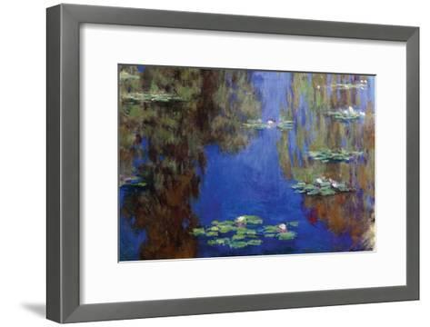 Monet - Water Lilies-Claude Monet-Framed Art Print