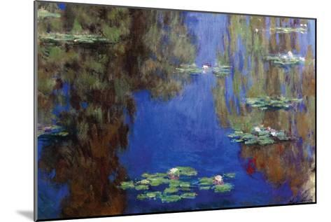 Monet - Water Lilies-Claude Monet-Mounted Art Print