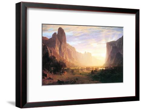 Yosemite Valley 3-Albert Bierstadt-Framed Art Print