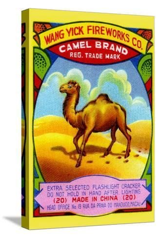 Wang Yick Fireworks Camel Brand--Stretched Canvas Print