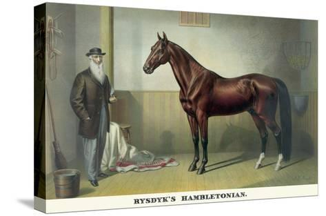 Rysdyk's Hambletonian-Currier & Ives-Stretched Canvas Print