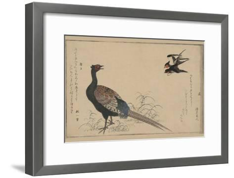 Pheasant--Framed Art Print