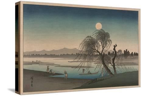 F?keiga-Ando Hiroshige-Stretched Canvas Print
