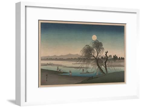 F?keiga-Ando Hiroshige-Framed Art Print