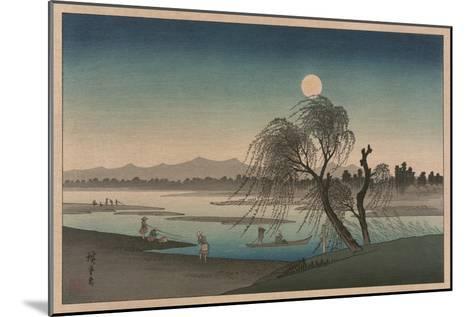 F?keiga-Ando Hiroshige-Mounted Art Print
