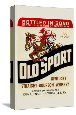 Old Sport Kentucky Straight Bourbon Whiskey--Stretched Canvas Print