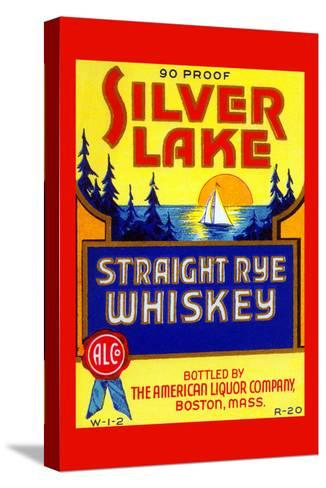 Silver Lake Straight Rye Whiskey--Stretched Canvas Print