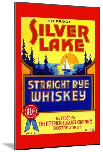 Silver Lake Straight Rye Whiskey--Mounted Art Print
