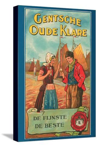 Gentsche Oude Klare- Litho Myncke-Stretched Canvas Print