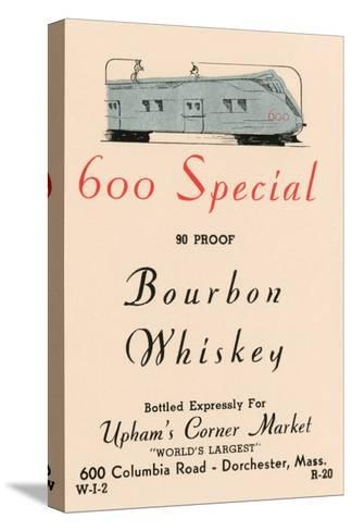 600 Special Bourbon Whiskey--Stretched Canvas Print