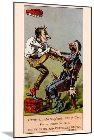 Pulling Teeth--Mounted Art Print