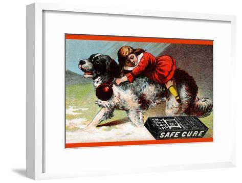 Warner's Safe Cure--Framed Art Print