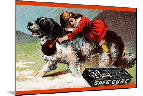 Warner's Safe Cure--Mounted Art Print