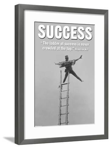 Success-Wilbur Pierce-Framed Art Print