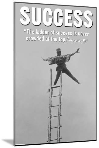Success-Wilbur Pierce-Mounted Art Print