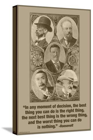 Moment of Decision-Wilbur Pierce-Stretched Canvas Print