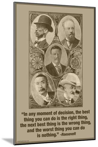 Moment of Decision-Wilbur Pierce-Mounted Art Print