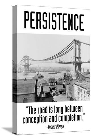 Persistence-Wilbur Pierce-Stretched Canvas Print