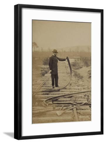 Bent Rails Cw--Framed Art Print