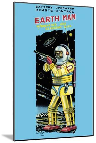 Battery Operated Remote Control Earthman--Mounted Art Print