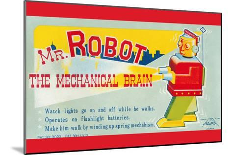 Mr. Robot: the Mechanical Brain--Mounted Art Print