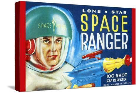 Lone Star Space Ranger 100 Shot Cap Repeater--Stretched Canvas Print