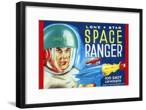 Lone Star Space Ranger 100 Shot Cap Repeater--Framed Art Print