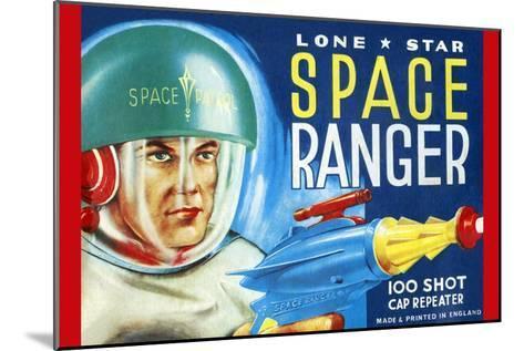Lone Star Space Ranger 100 Shot Cap Repeater--Mounted Art Print
