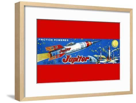 Friction Powered Jupiter M-5--Framed Art Print