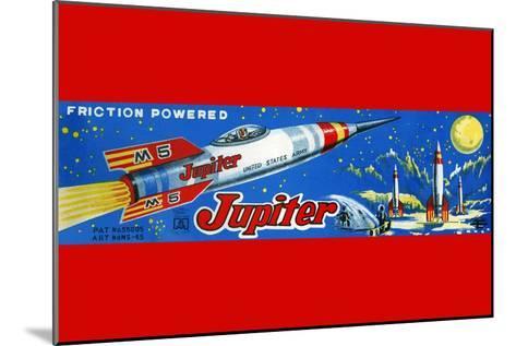 Friction Powered Jupiter M-5--Mounted Art Print