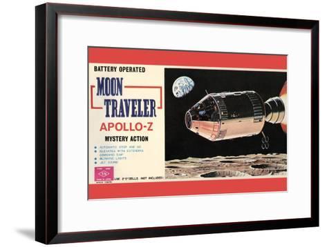 Moon Traveler Apollo-Z--Framed Art Print
