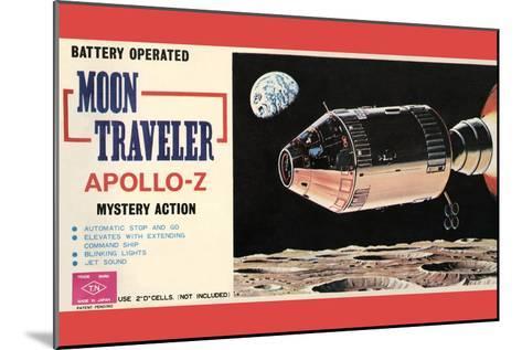Moon Traveler Apollo-Z--Mounted Art Print