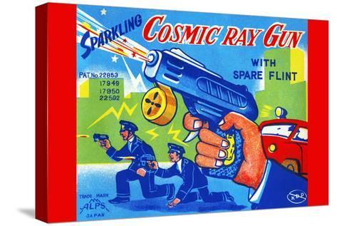 Cosmic Ray Gun--Stretched Canvas Print