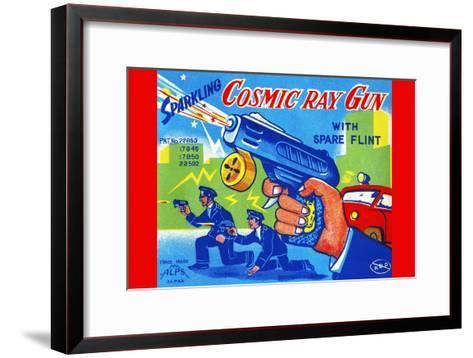 Cosmic Ray Gun--Framed Art Print