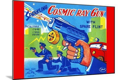 Cosmic Ray Gun--Mounted Art Print