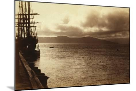 Sunset Study, San Francisco Bay-George Fiske-Mounted Art Print