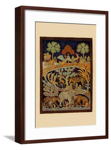 Animal Tapestry-Needlecraft Magazine-Framed Art Print
