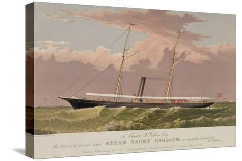 Steam Yacht Corsair--Stretched Canvas Print