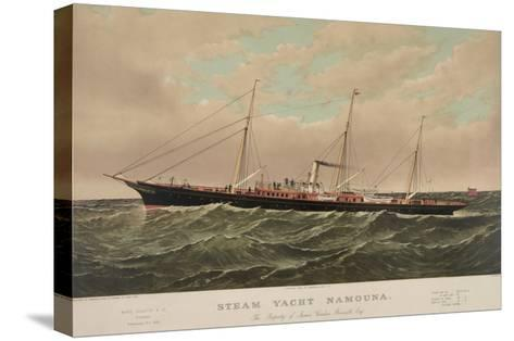 Steam Yacht Namouna--Stretched Canvas Print