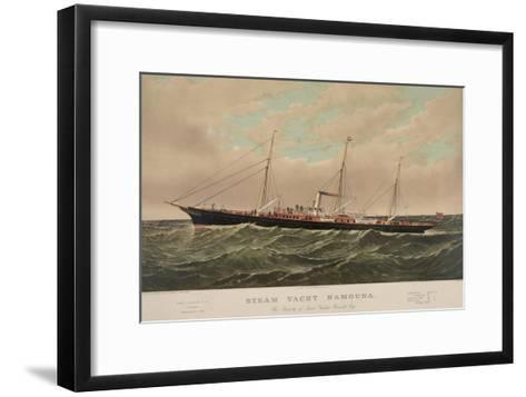 Steam Yacht Namouna--Framed Art Print