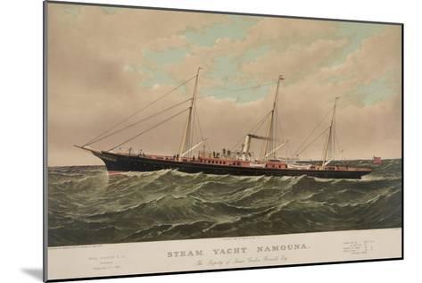 Steam Yacht Namouna--Mounted Art Print
